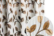 estilos de cortinas para salón