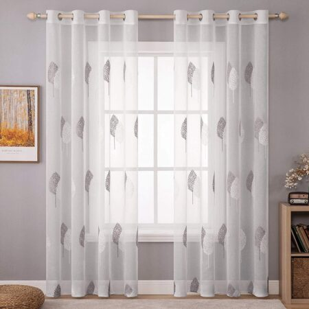 cortinas y visillos para sal贸n