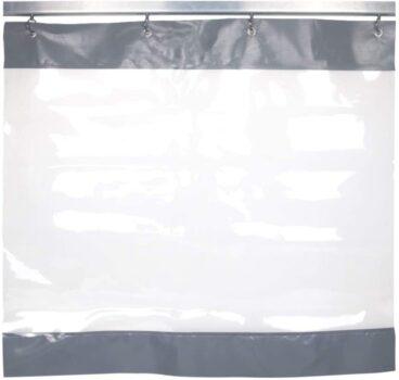 cortinas de lona y plástico
