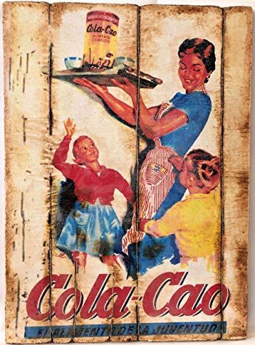 cuadro vintage colacao