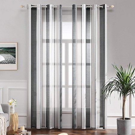 cortinas a rayas