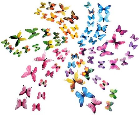 cortinas after effects mariposas