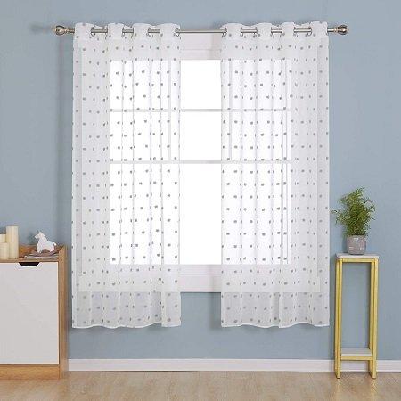 cortinas habitación corta