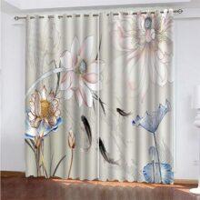 cortinas verticales con dibujos