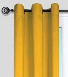 cortinas amarillas