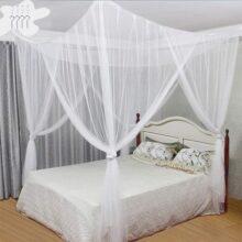 mosquitera con cortinas y dosel