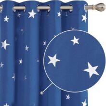cortinas infantiles con estrellas