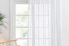 cortinas ventanal salón