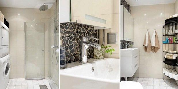 ducha apartamento pequeño