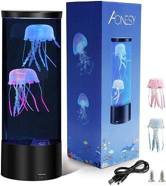 lámpara medusa de mar