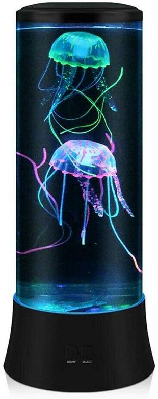 lámparas en forma de medusa
