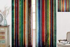 cortinas de bandas verticales
