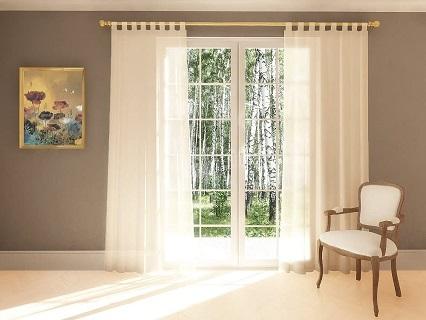cortinas con trabillas