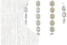 cortinas de bolitas