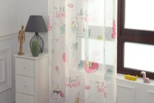 cortinas de dormitorio infantil