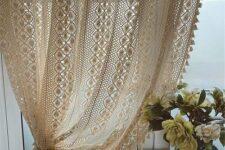 cortinas retro para salón